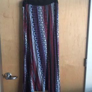Cato patterned skirt